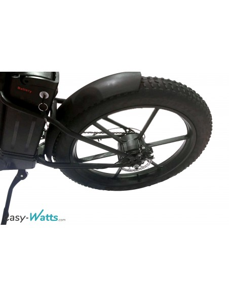 gros pneus fat bike électrique e-fat easy-watts