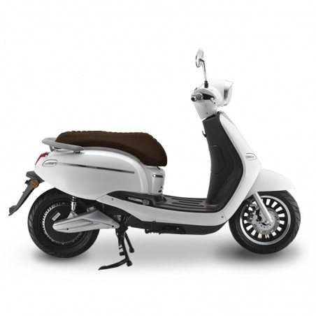 scooter electrique swan blanc easy-watts